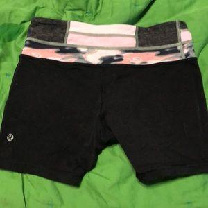 lululemon athletica Shorts - Lululemon bike shorts